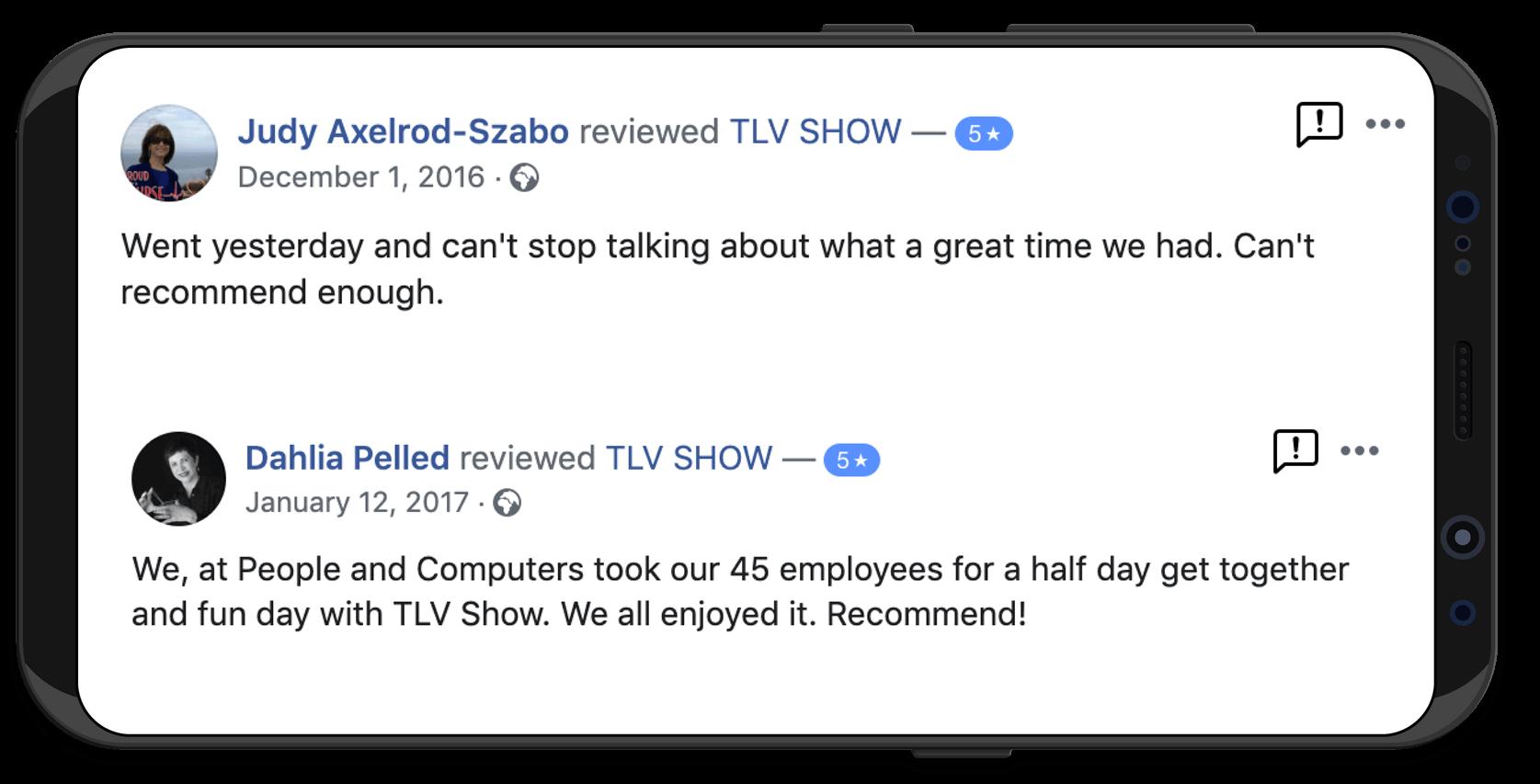 TLV SHOW Review
